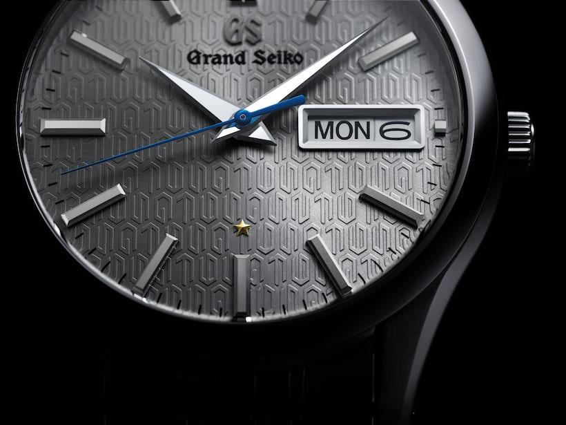 dial closeup Grand Seiko 9F 25th Anniversary Limited Edition SBGT241