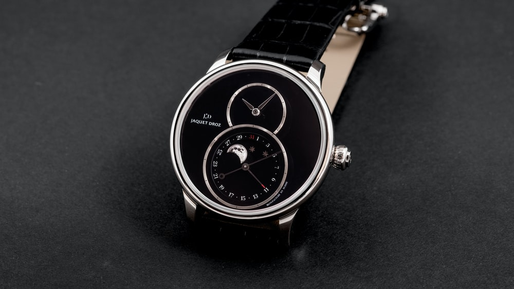 Hands-On: The Jaquet Droz Grande Seconde Moon Onyx
