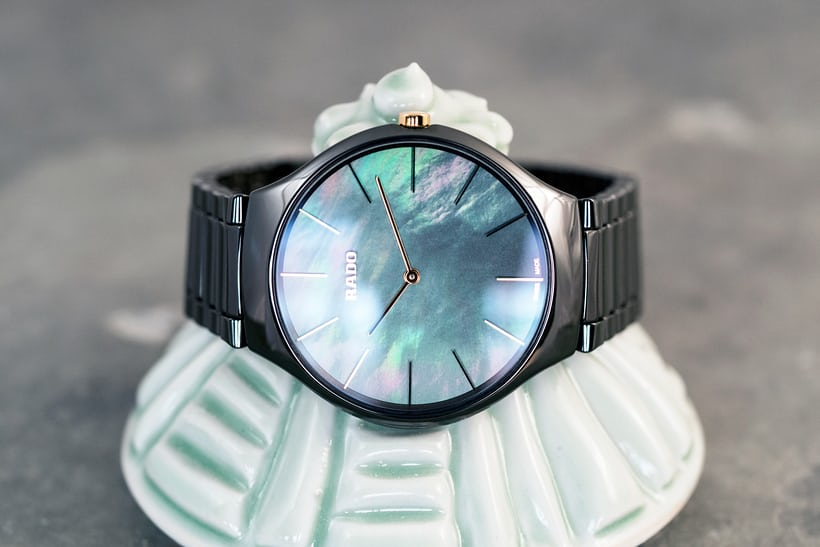 Rado True Thinline Leaf dial color