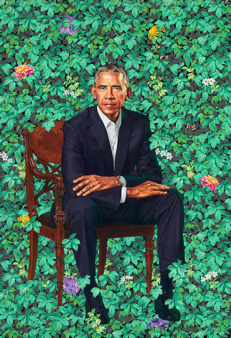 Watch Spotting: Former President Barack Obama Wearing A Rolex Cellini In His Official Portrait 180212113953 special cut barack obama portrait exlarge 169