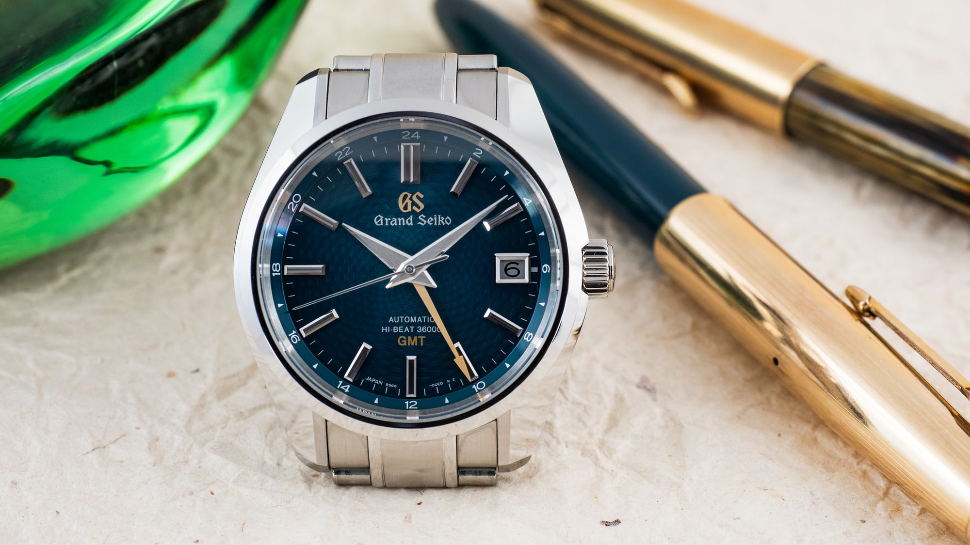 Hands-On: The Grand Seiko Hi-Beat 36000 GMT Limited Edition SBGJ227 'Peacock'