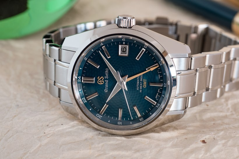 Grand Seiko Hi-Beat GMT SBGJ227