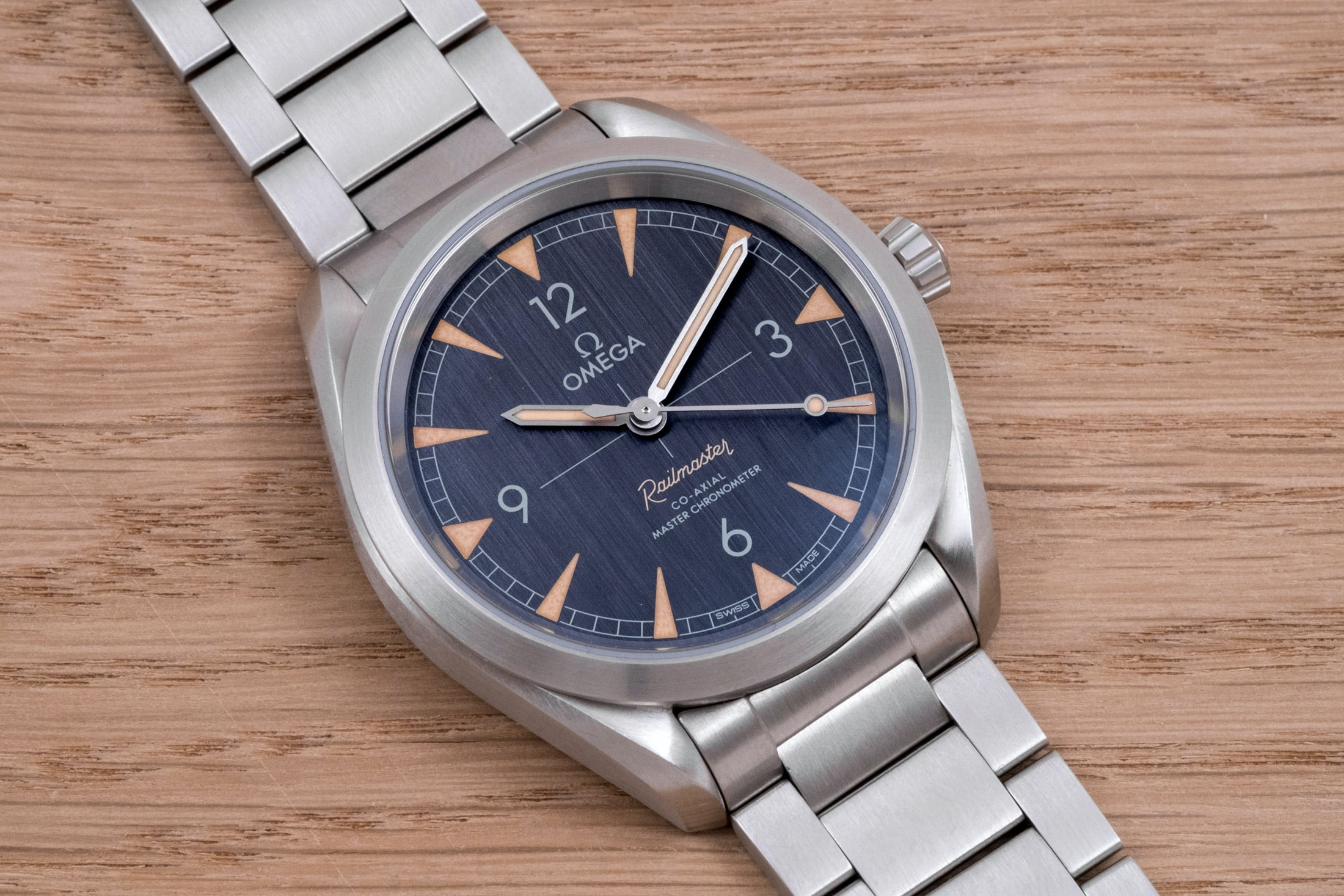 A Week On The Wrist: The Omega Seamaster Railmaster A Week On The Wrist: The Omega Seamaster Railmaster DSCF6144