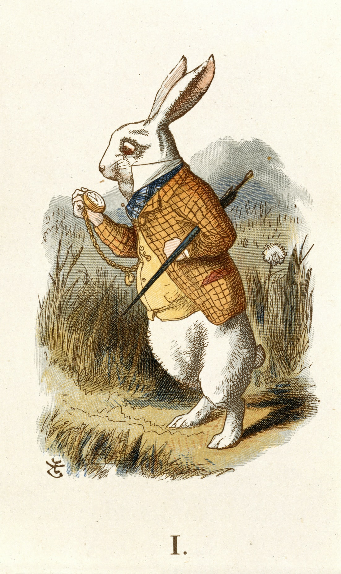 Tenniel white rabbit Alice in Wonderland  Technical Perspective: How Accurate Should Your Mechanical Watch Actually Be? The White Rabbit Tenniel   The Nursery Alice 1890   BL