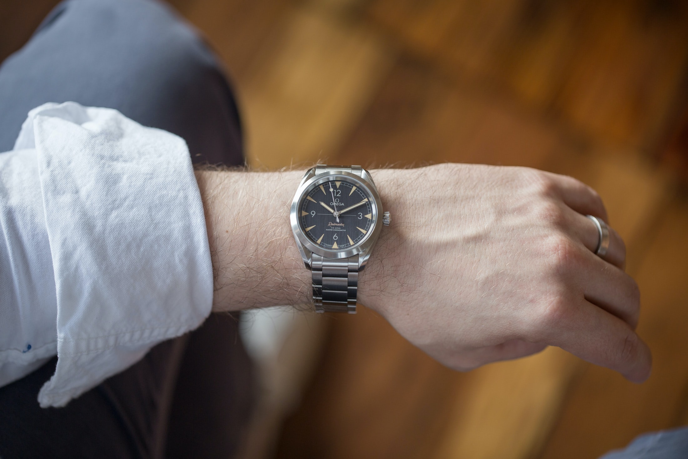 A Week On The Wrist: The Omega Seamaster Railmaster A Week On The Wrist: The Omega Seamaster Railmaster rail 03