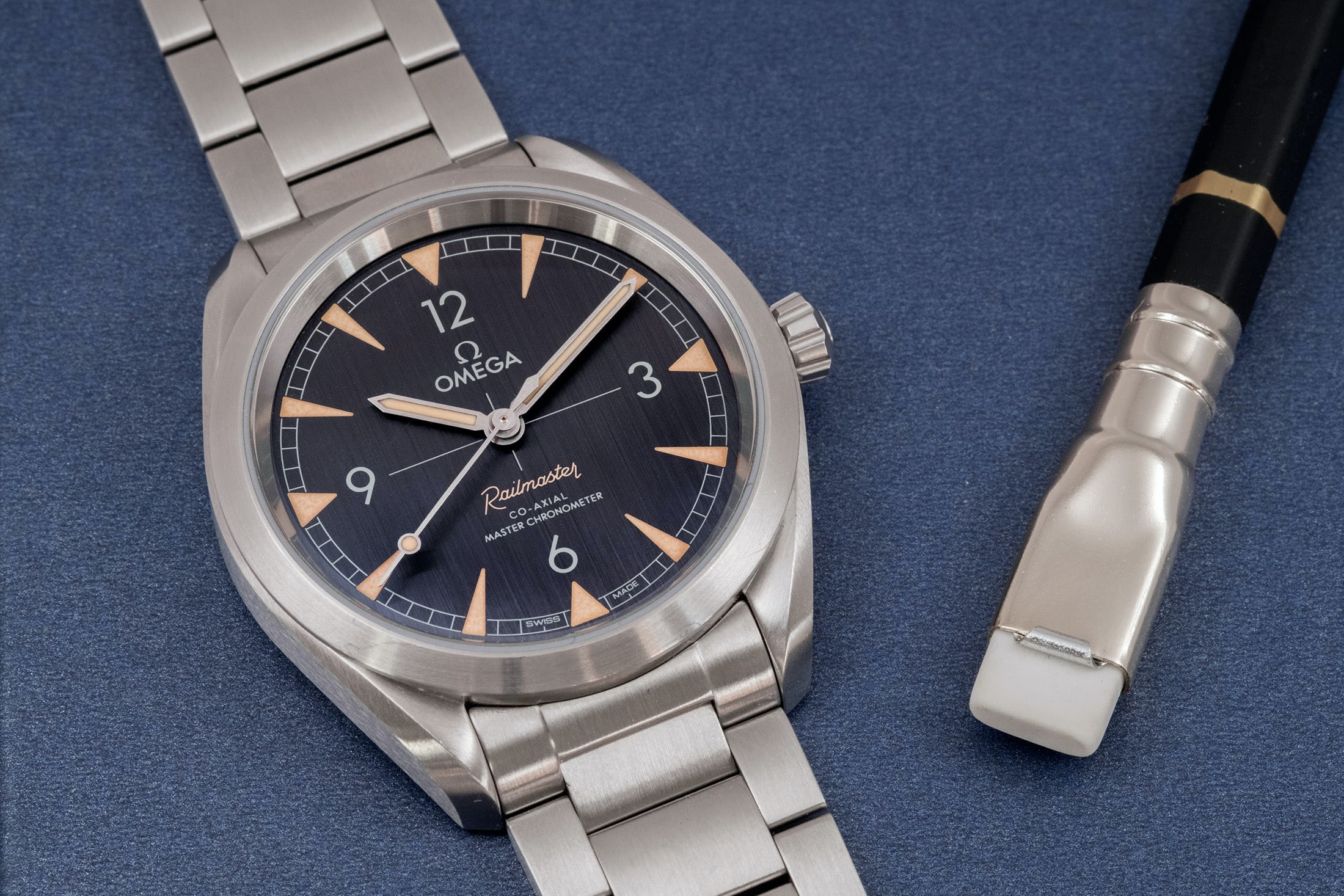 A Week On The Wrist: The Omega Seamaster Railmaster A Week On The Wrist: The Omega Seamaster Railmaster DSCF6141