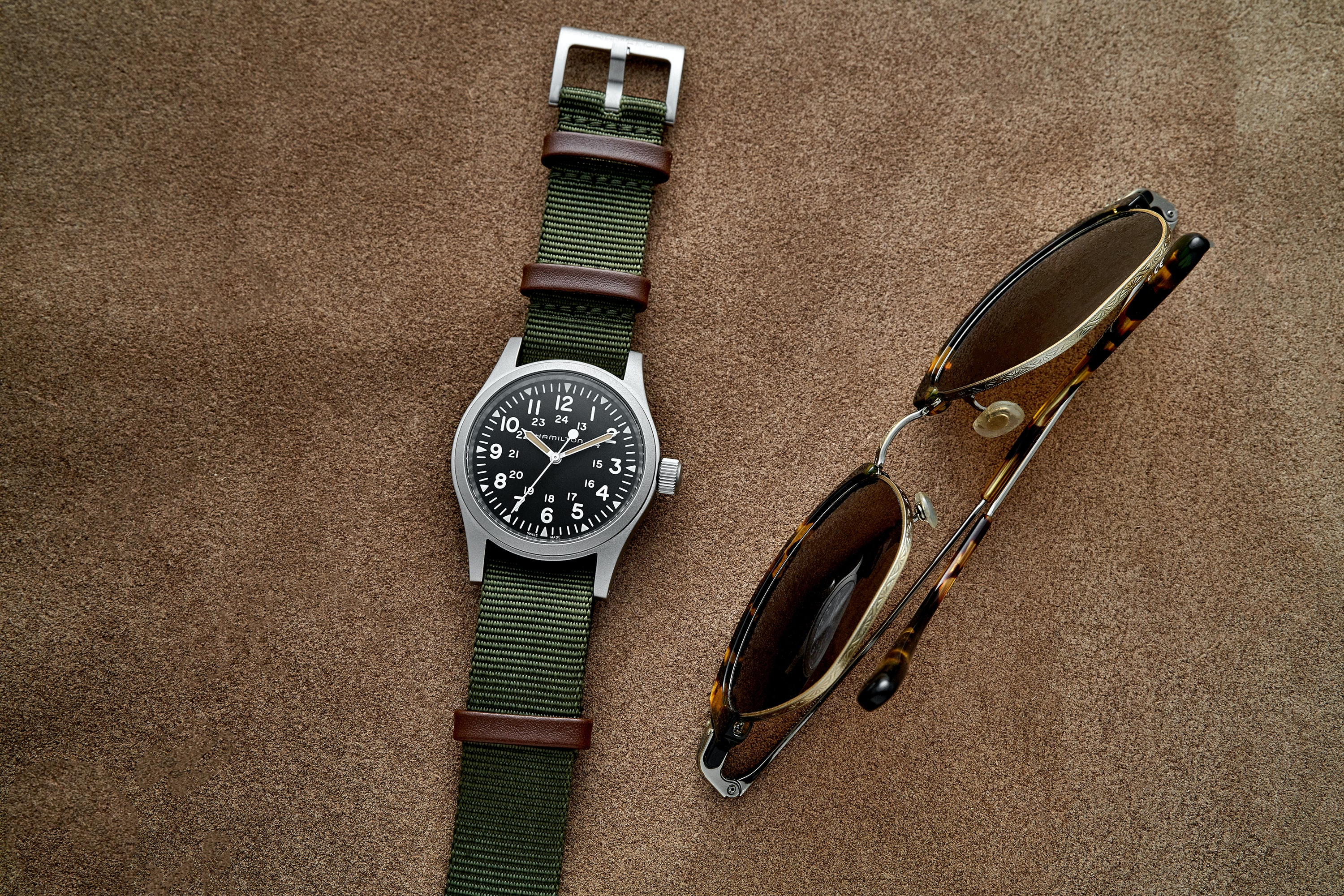 In The Shop - Introducing: The Hamilton Khaki Field Mechanical