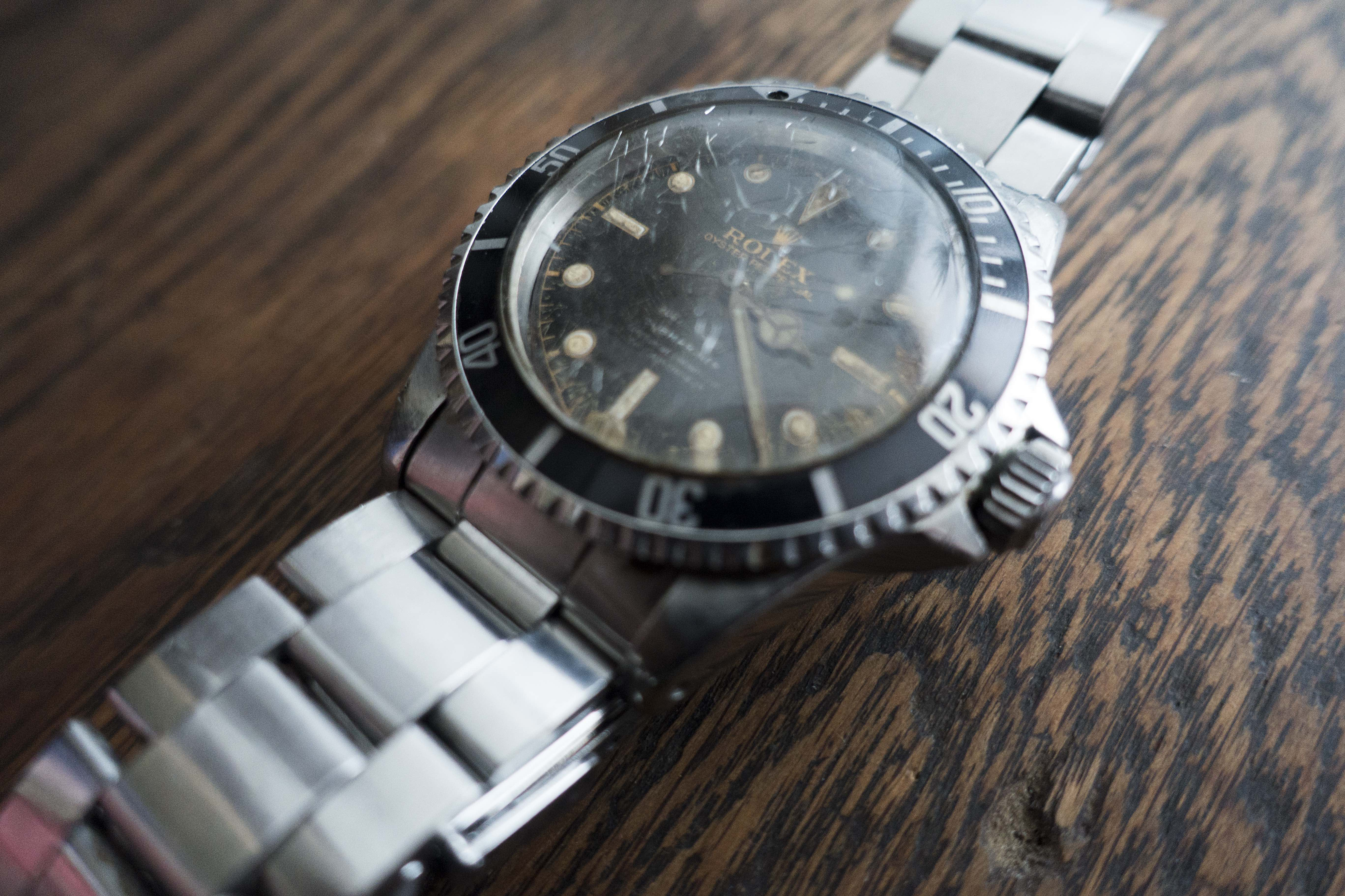 Found: A $10 Gilt Dial Rolex Submariner Reference 5512 Found: A $10 Gilt Dial Rolex Submariner Reference 5512 9