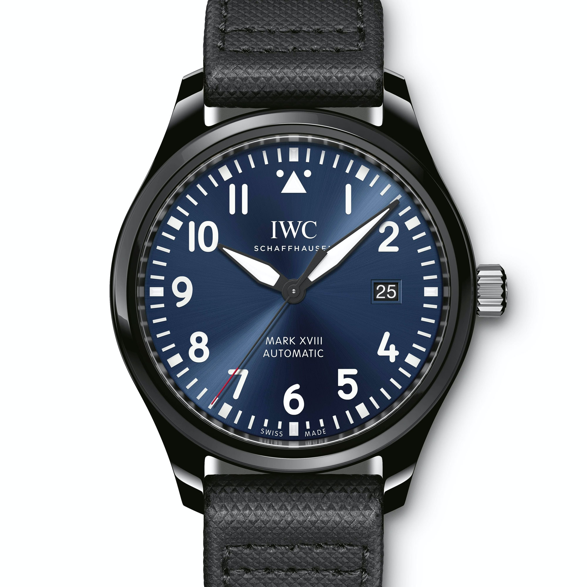 Introducing: The IWC Pilot's Watch Mark XVIII Edition 'Laureus Sport for Good Foundation' - HODINKEE