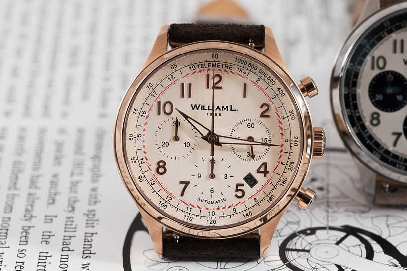 william l. automatic chronograph