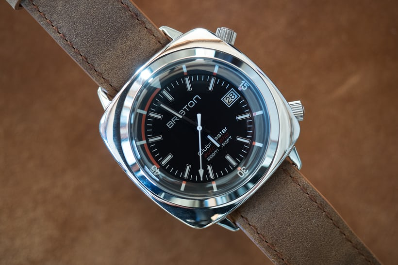 Briston Clubmaster Diver polished steel