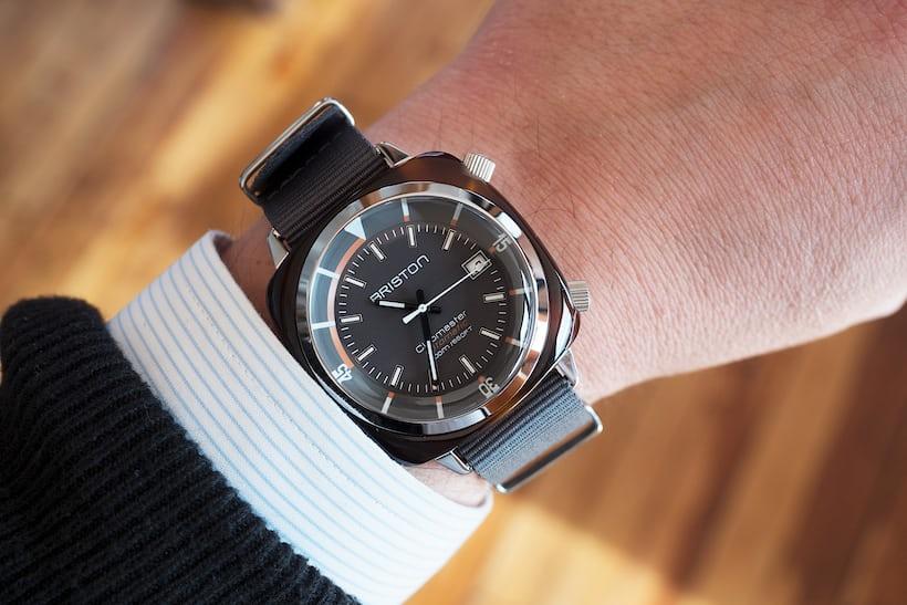 Briston Clubmaster Diver wrist shot