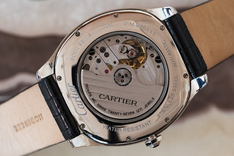 Drive De Cartier movement