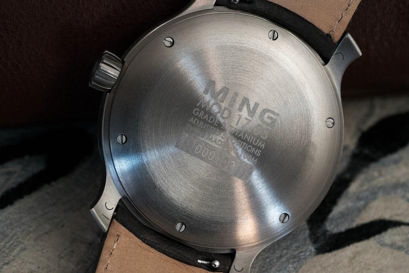 Ming 17.03 GMT caseback