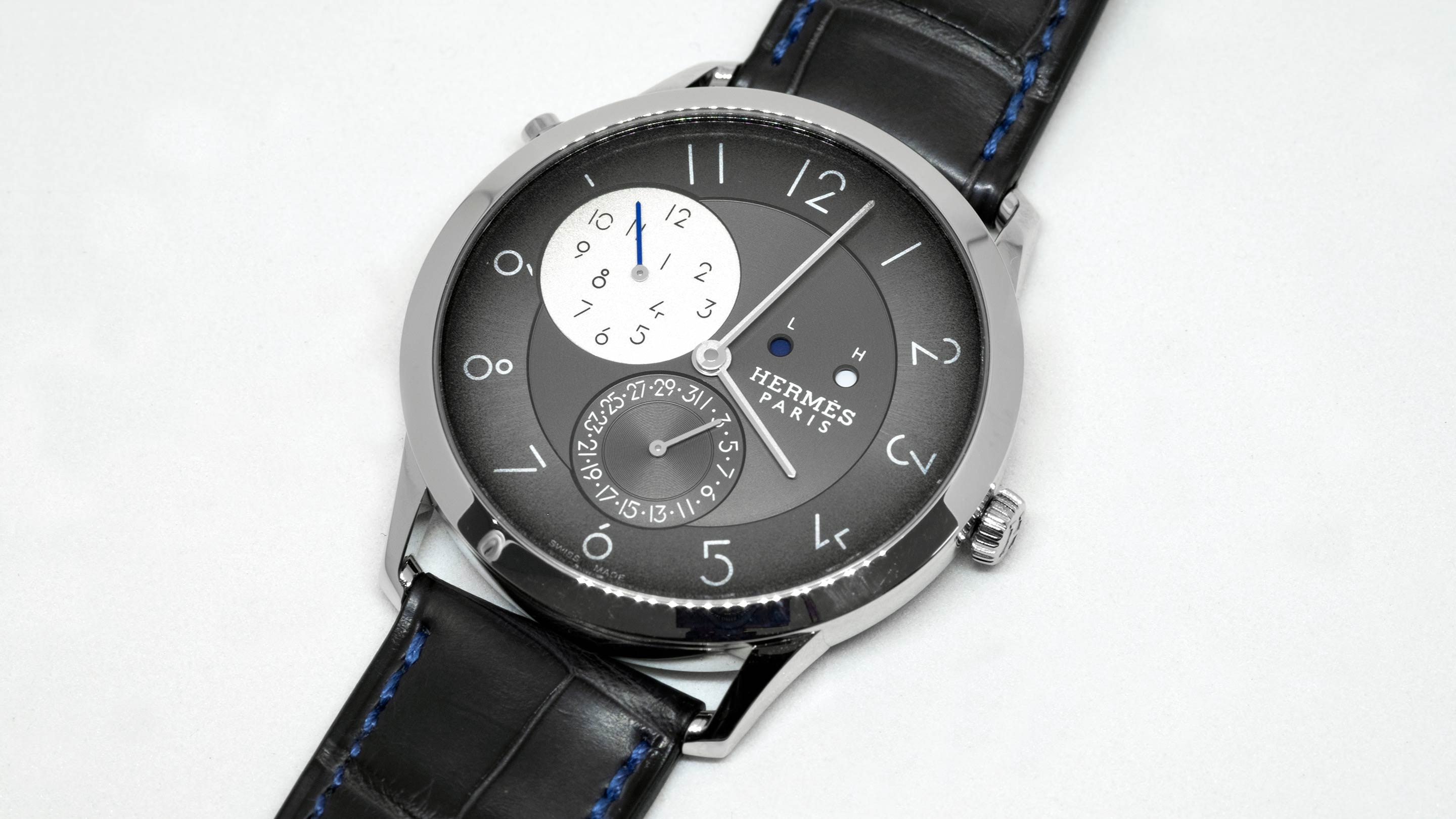 Introducing: The Hermès Slim d'Hermès GMT (Live Pics & Pricing)