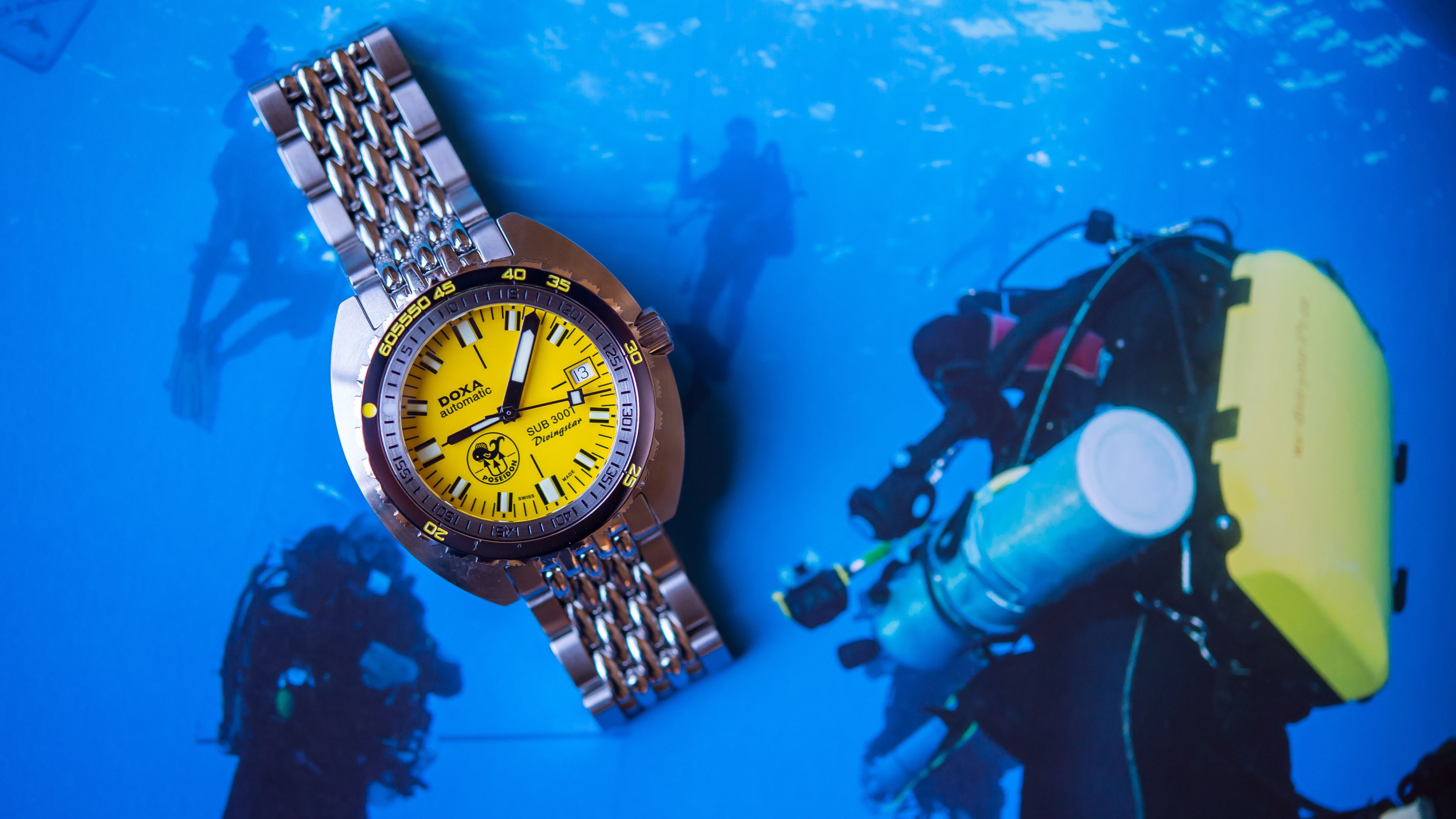 Introducing: The Doxa SUB 300T Divingstar 'Poseidon Edition' (Live Pics & Pricing)