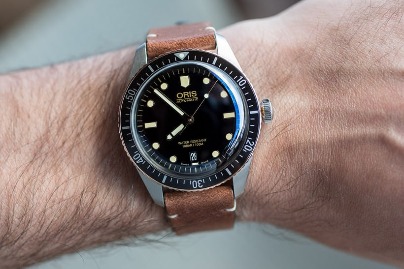Introducing: The Oris Divers Sixty-Five Bronze Bezel (Live Pics