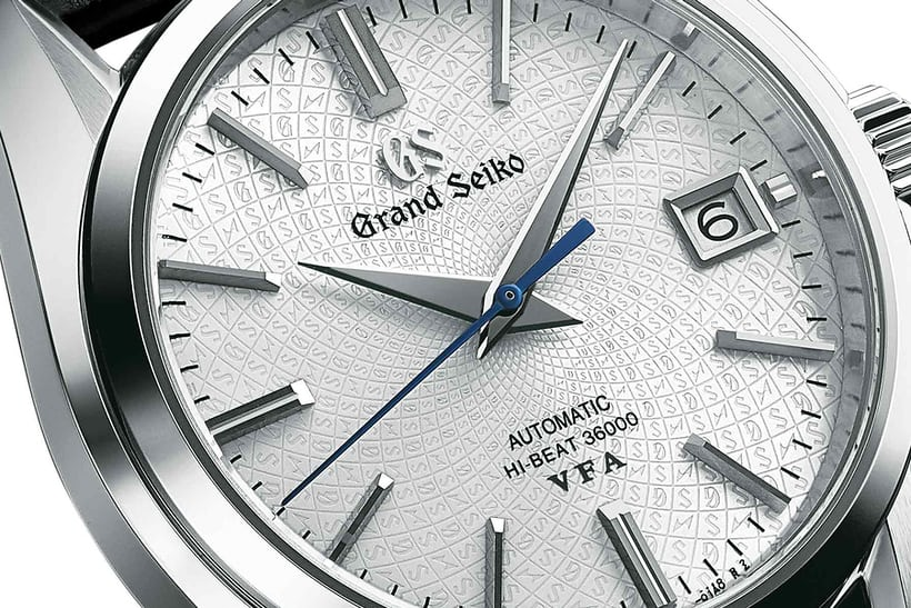 dial grand seiko hi beat limited edition platinum