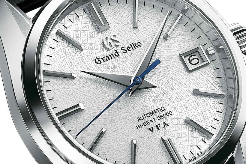 dial grand seiko hi beat limited edition platinum