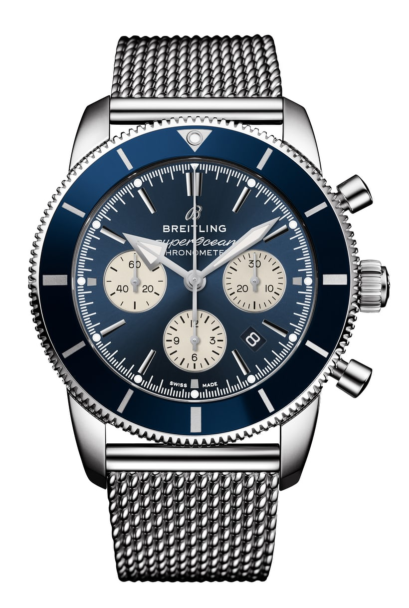 New Breitlings at Baselworld 2018 Superocean_Heritage_II_B01_Chronograph_44_with_blue_dial_and_blue_Ocean_Classic_steel_bracelet.jpg?ixlib=rails-1.1