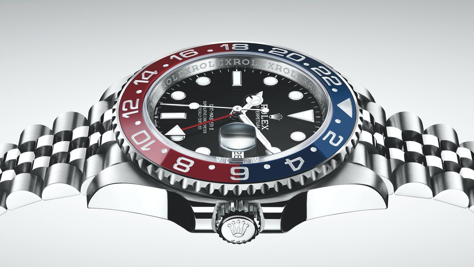 Introducing The Rolex GMT,Master II Pepsi In Stainless