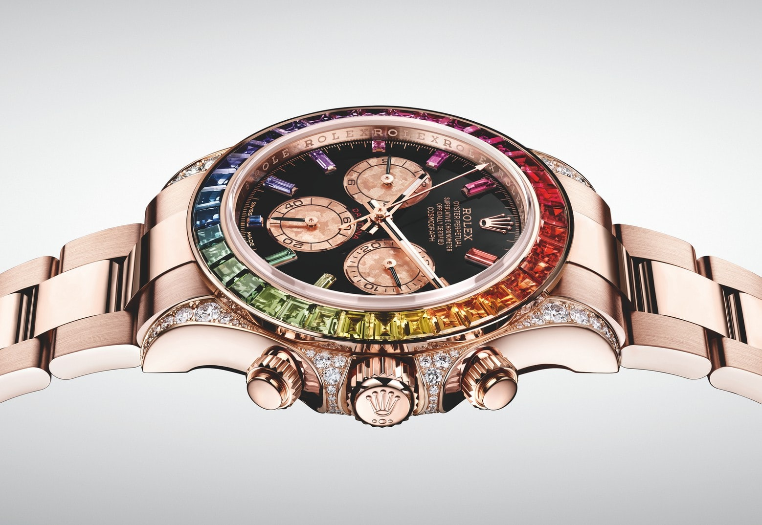 Introducing The Rolex Rainbow Daytona In Everose Gold Ref