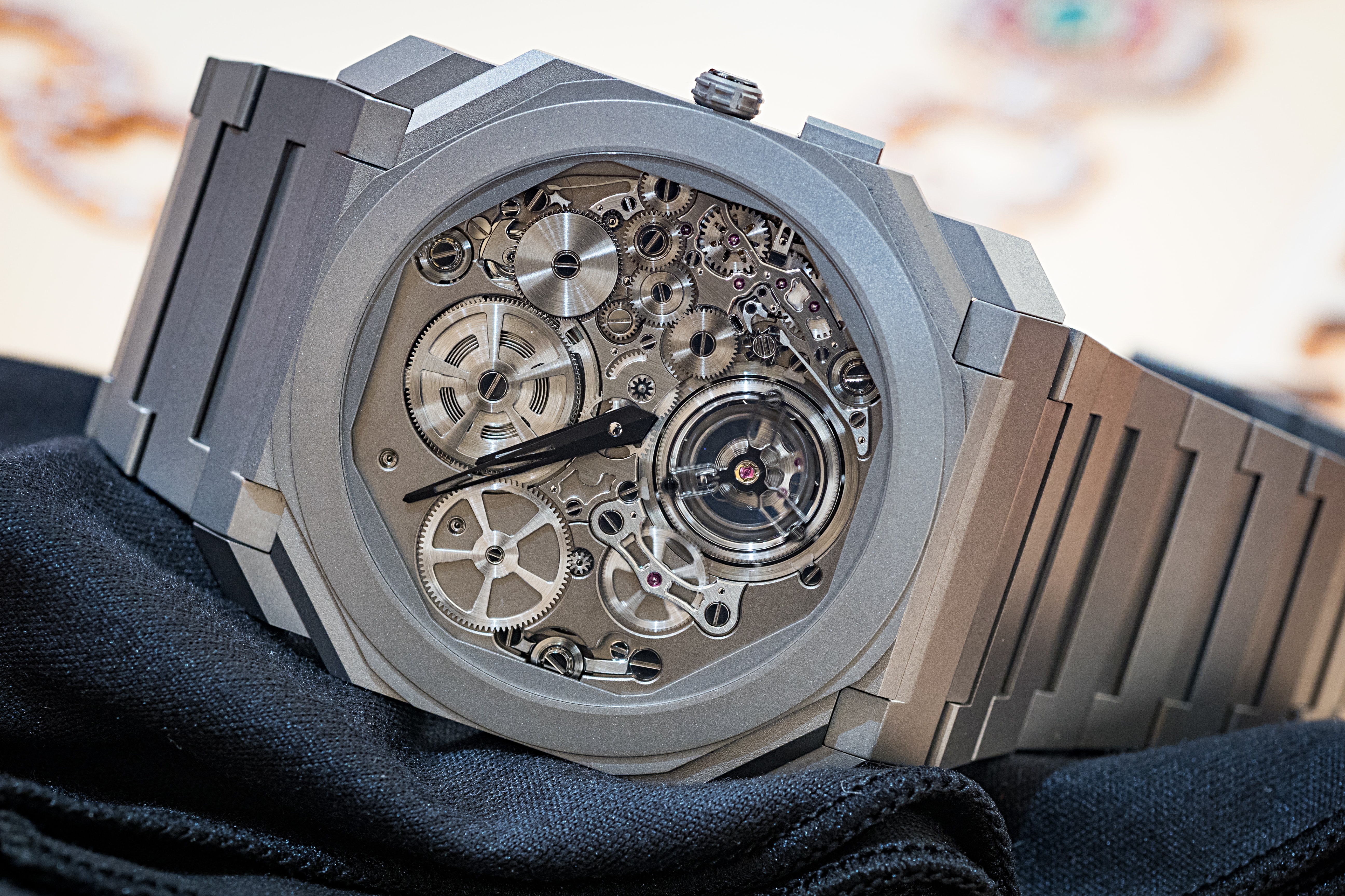 Happenings: See The Bulgari Octo Finissimo Tourbillon Automatic And Minute Repeater Carbon For The First Time In The US, At Bulgari NY P3210921