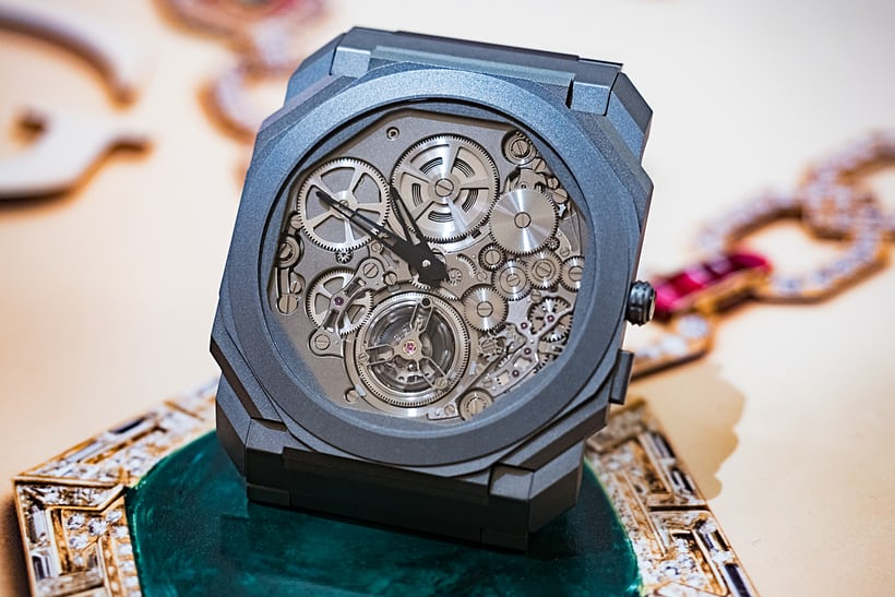 Bulgari Octo Finissimo Tourbillon Automatic side view
