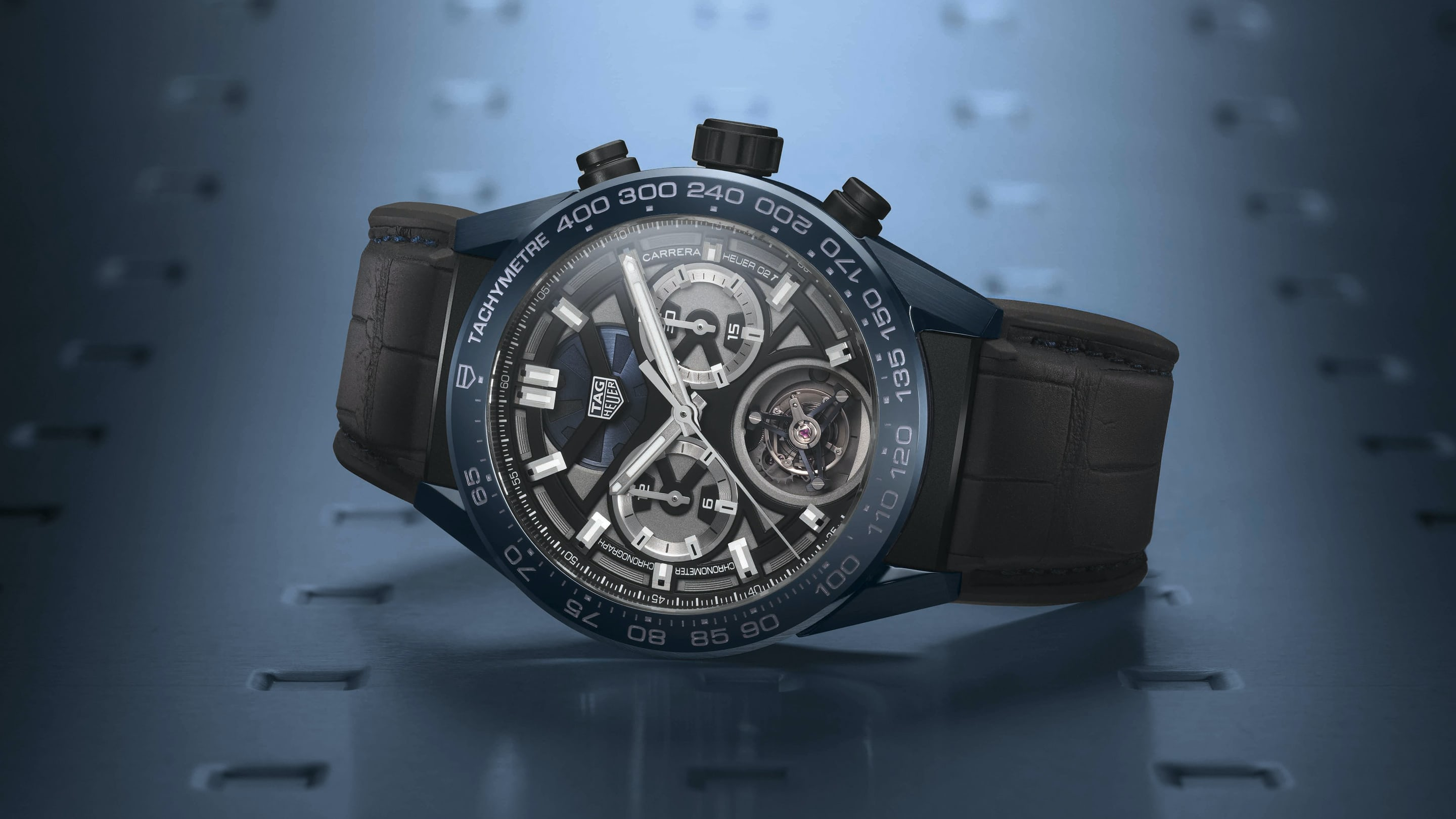 cal with watches dial calibre heuer black carrera watch tag product