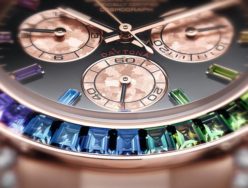 Introducing The Rolex Rainbow Daytona In Everose Gold Ref