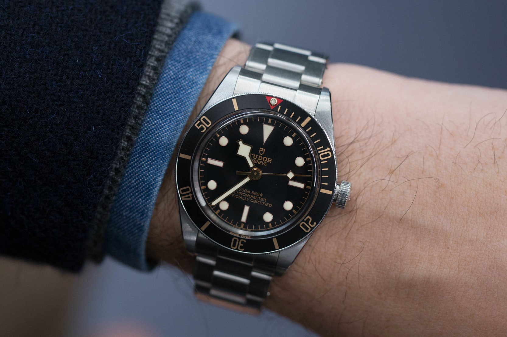 Hands On The Tudor Black Bay Fifty Eight Live Pics