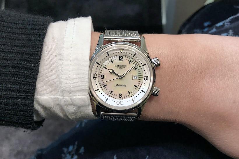 Hands On The Longines Legend Diver 36mm Hodinkee