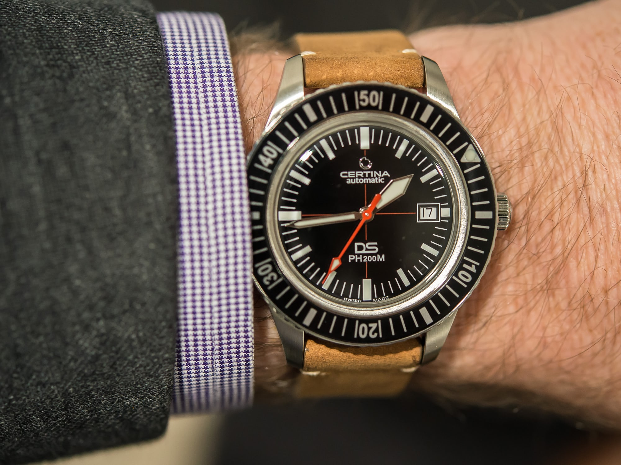 hands-on: the certina ds ph200m Hands-On: The Certina DS PH200M Certina 5