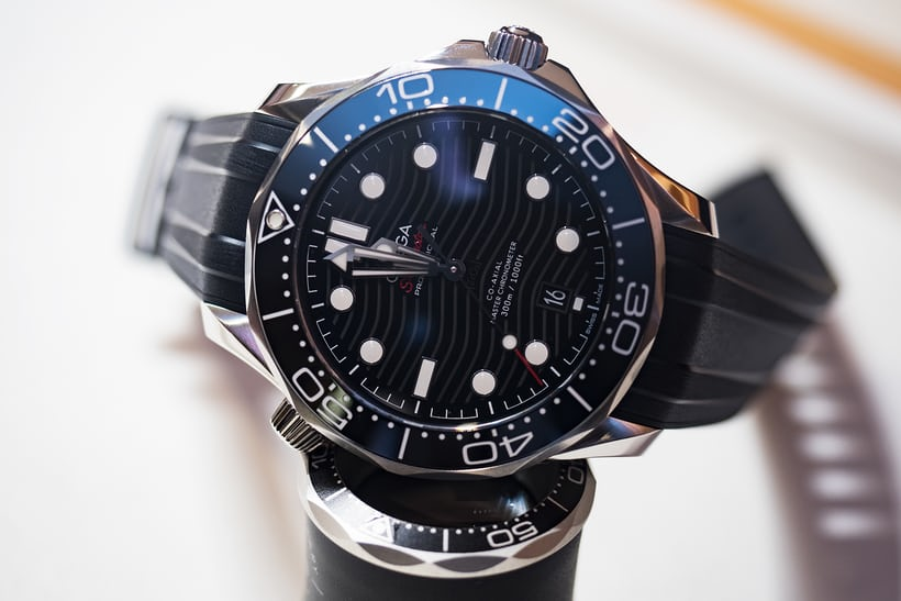 0b1486eb704f The new Seamaster 300M now includes a new version of the ceramic bezel as  well as a ceramic dial
