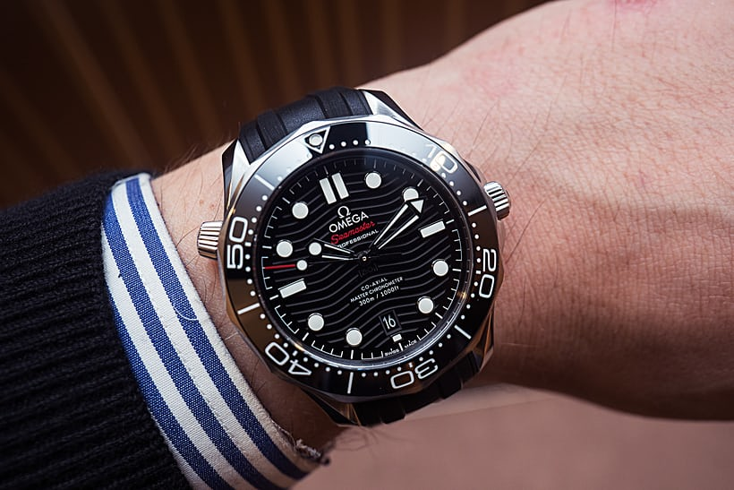 bee5474a860c Hands-On  The Omega Seamaster Professional Diver 300M Co-Axial ...