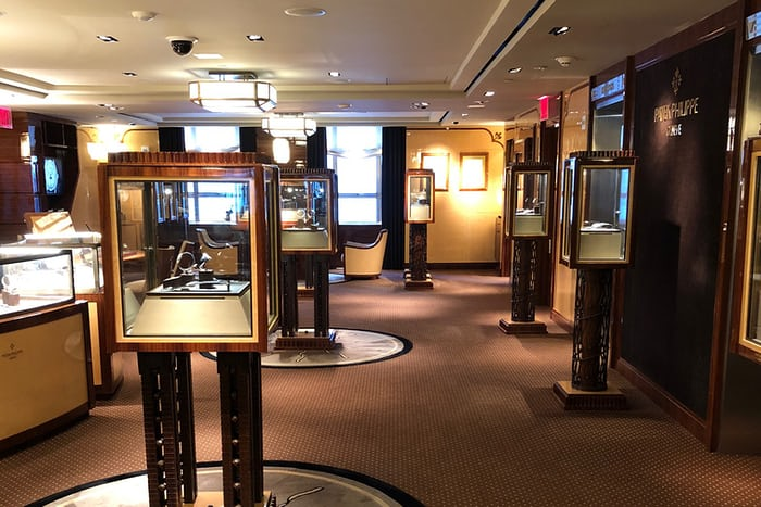 Patek Philippe Salon at Tiffany & Co.