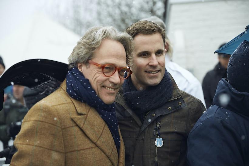 The Duke of Richmond and Christian Grainger-Herr