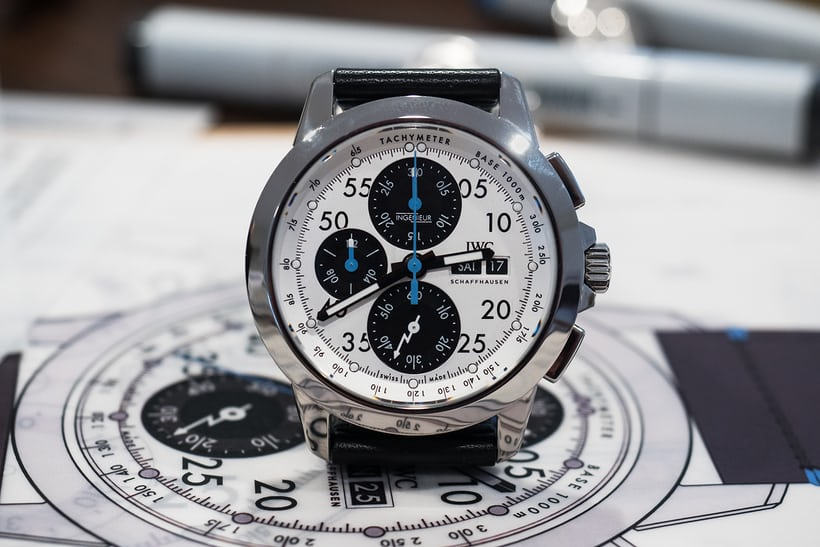 "The Ingenieur Chronograph Sport Edition ""76th Members' Meeting at Goodwood"""