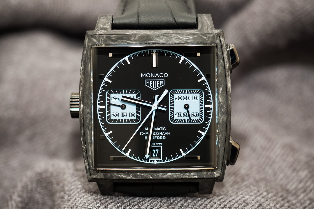 not the tag well basis might modified for example in produced particularly do autavia bamford watch watches these take heuer monaco carrera here by x ablogtowatch review