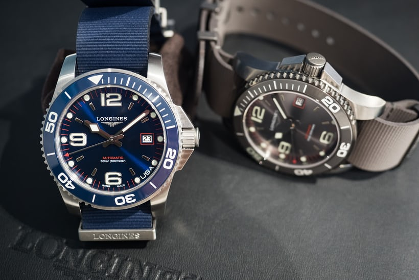 Exclusive Auto Sales >> Introducing: The Longines HydroConquest U.S. Exclusive ...
