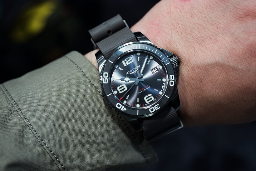 Longines Hydroconquest Automatic >> Introducing: The Longines HydroConquest U.S. Exclusive ...