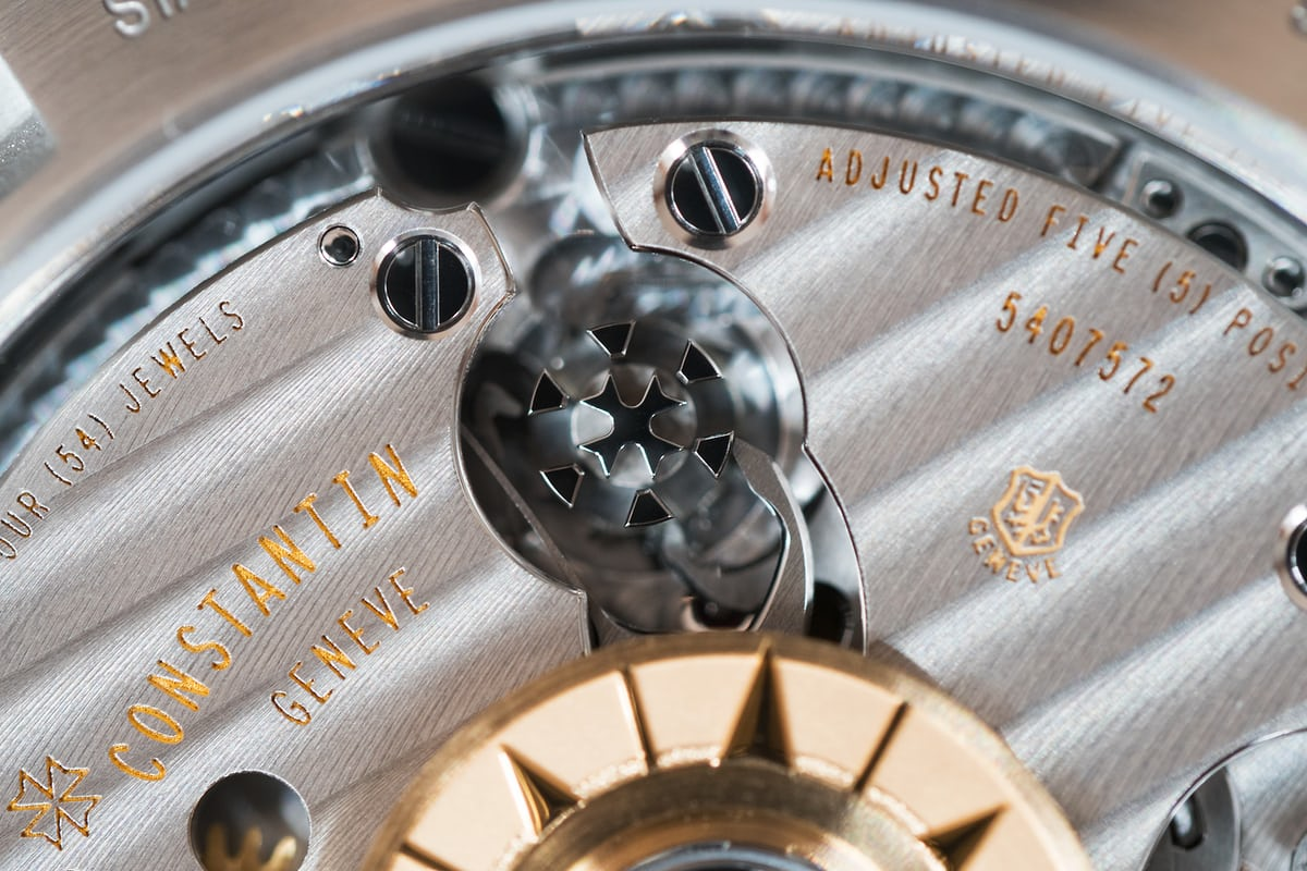 Vacheron Constantin Overseas Chronograph Panda Dial column wheel
