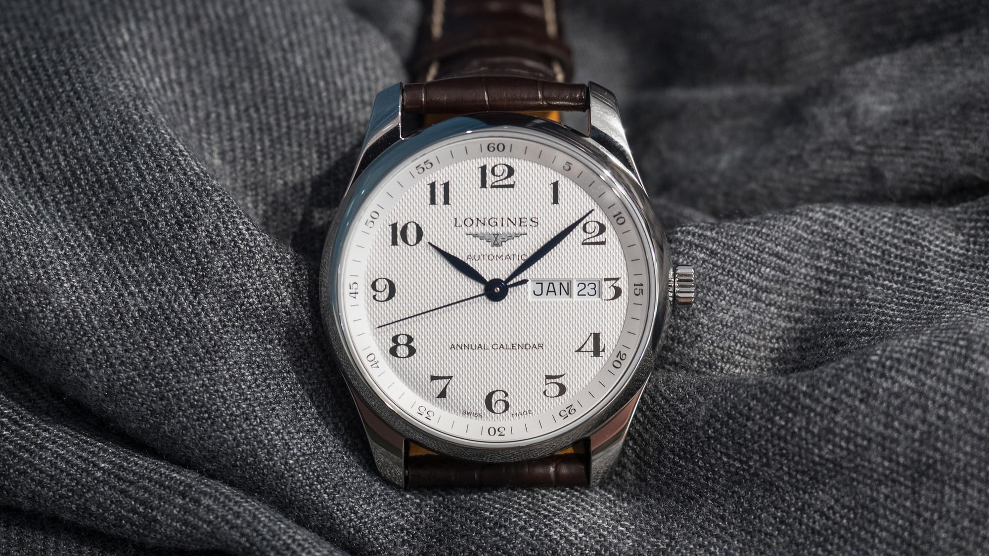 Introducing: The Longines Master Collection Annual Calendar (Live Pics & Pricing)