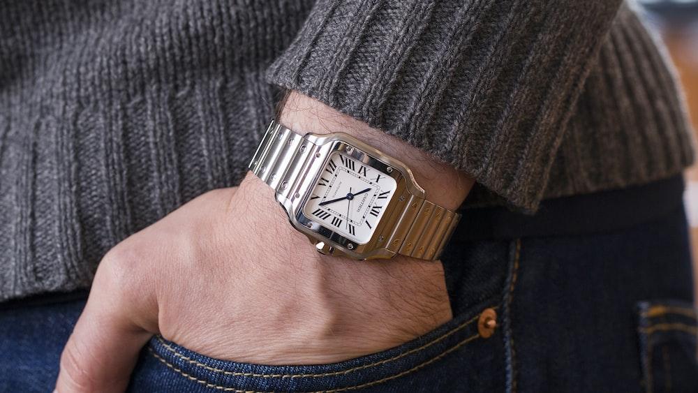 Tiffany Heart Bracelet >> A Week On The Wrist: The Cartier Santos - HODINKEE