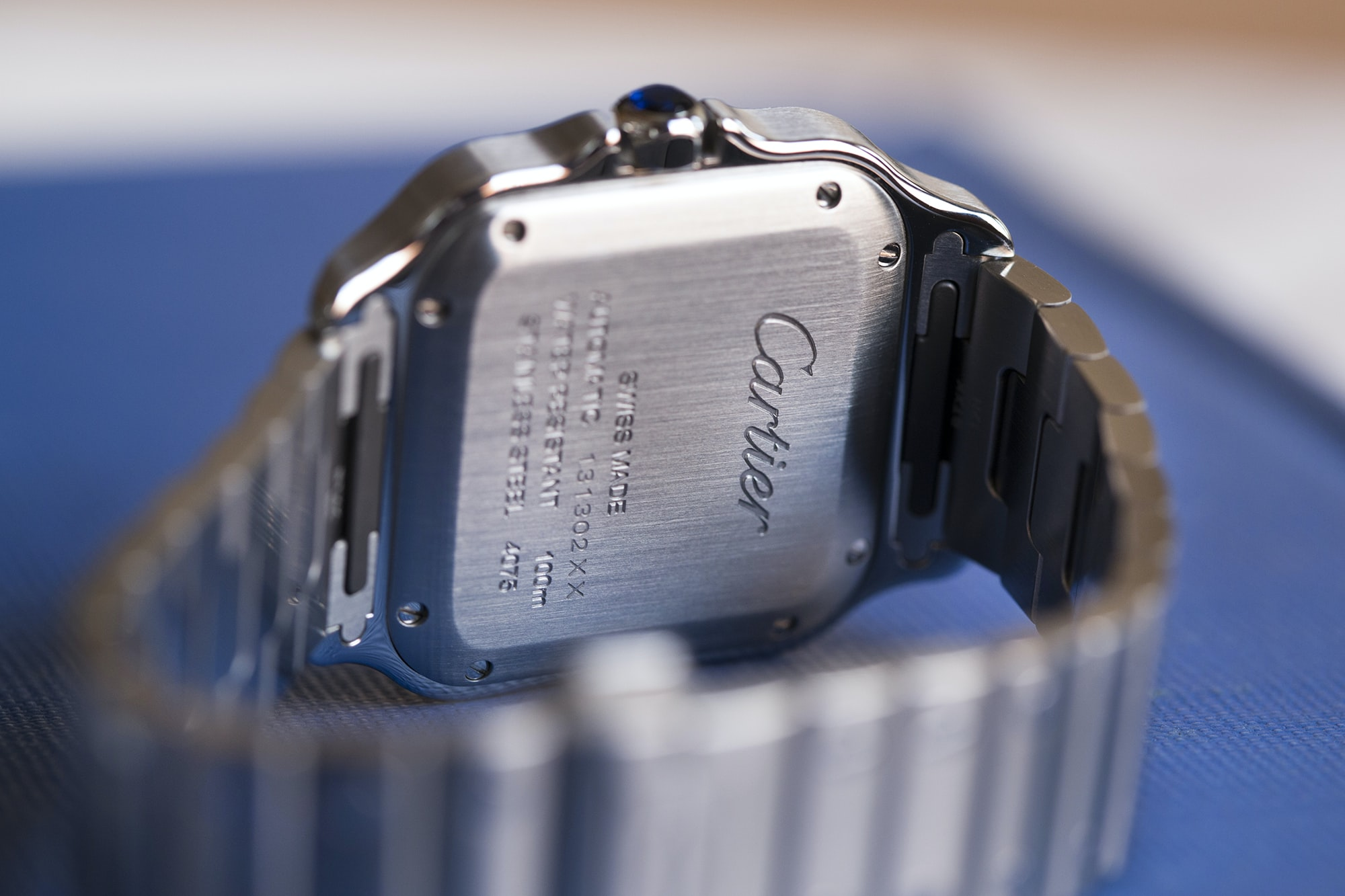 A Week On The Wrist: The Cartier Santos B89A0153 copy