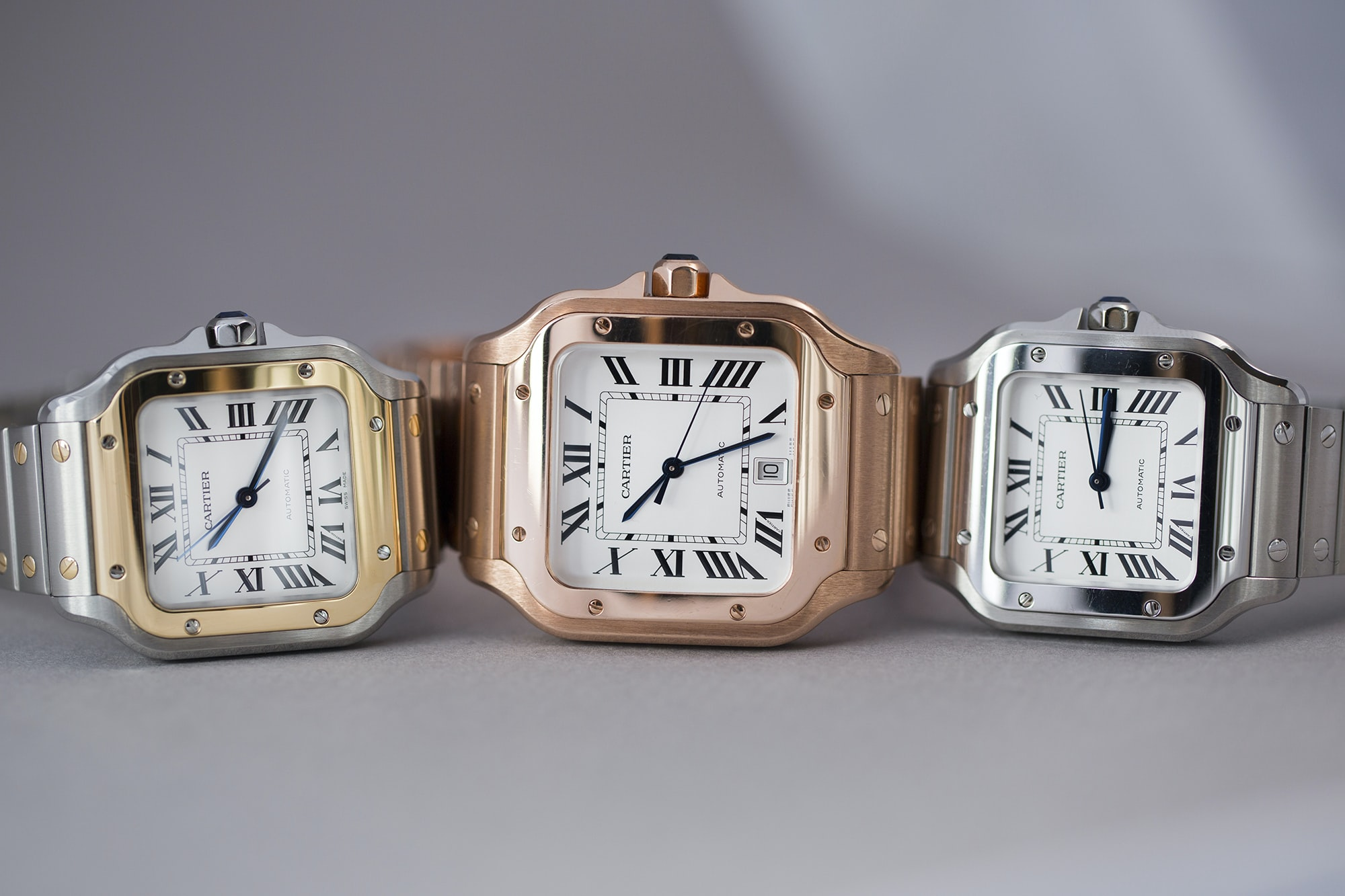 A Week On The Wrist: The Cartier Santos B89A0002 copy