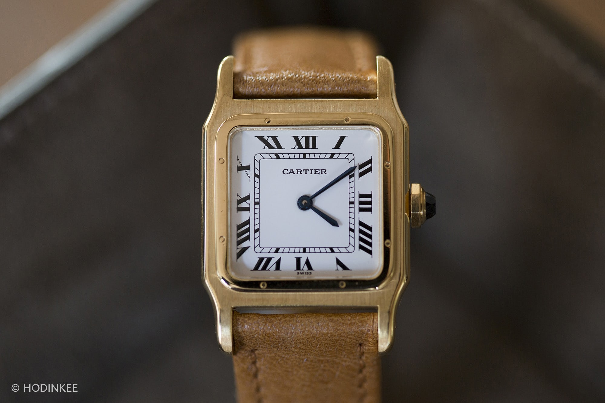 A Week On The Wrist: The Cartier Santos 80s Santos