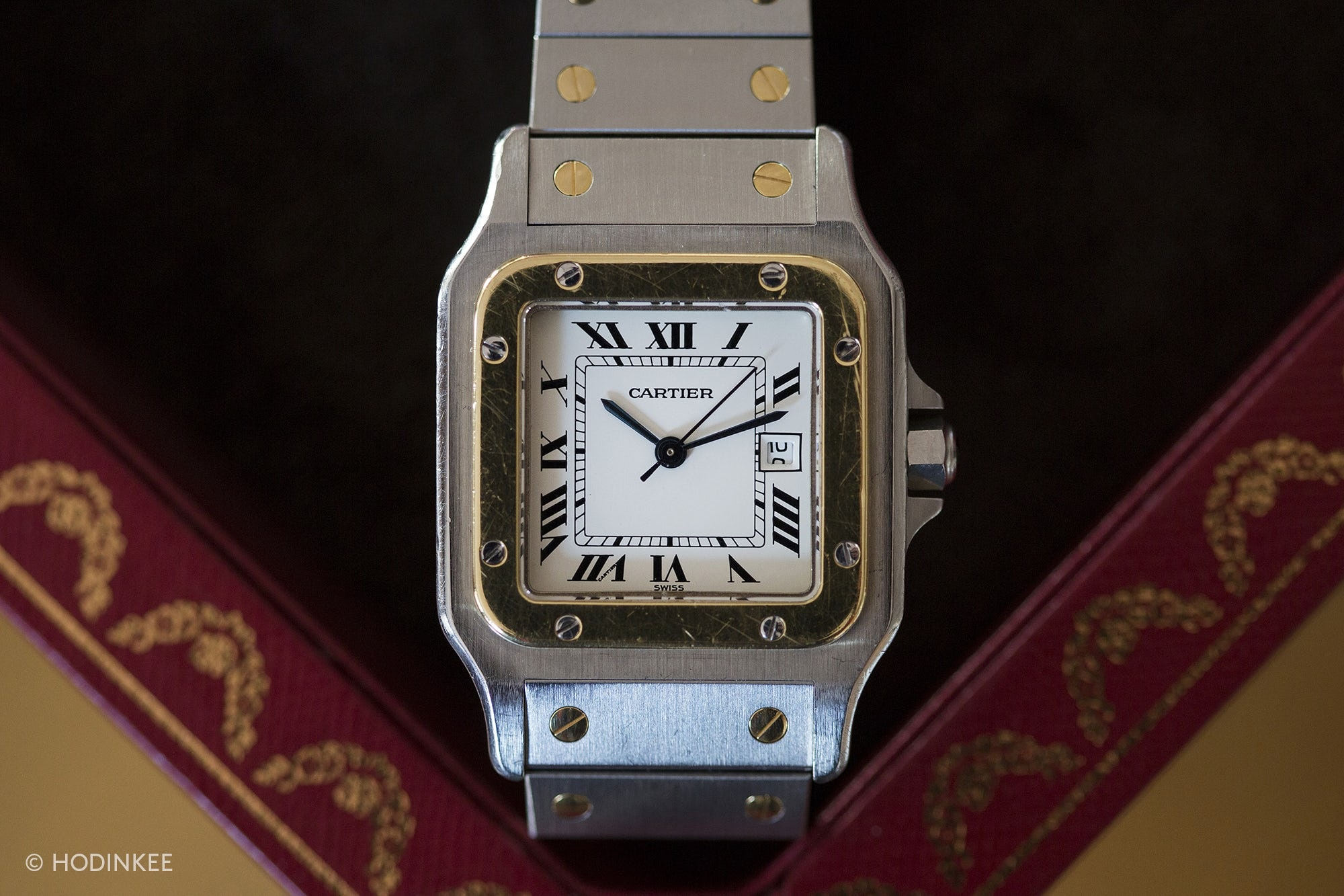 A Week On The Wrist: The Cartier Santos Santos