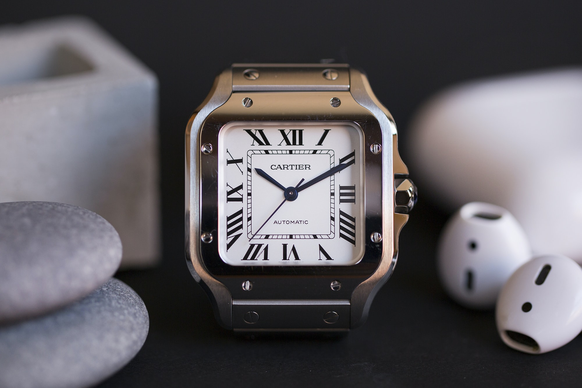 A Week On The Wrist: The Cartier Santos B89A0029 copy