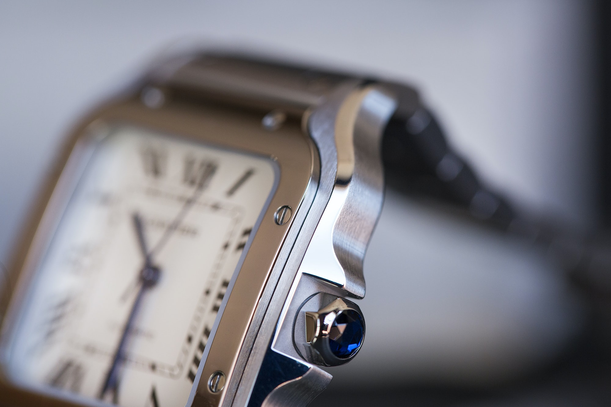 A Week On The Wrist: The Cartier Santos B89A0036 copy